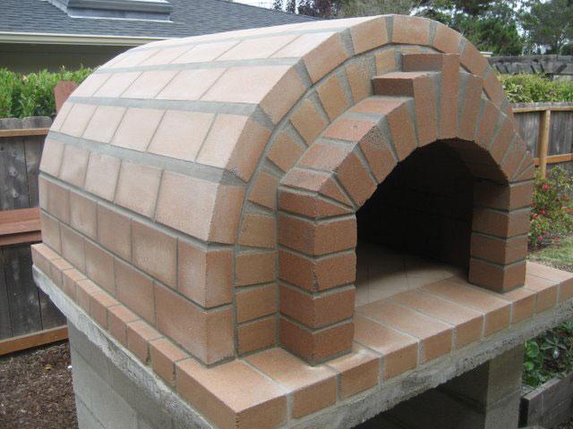 Mortar For Wood Fired Oven : Proses cara membuat oven pizza semen tahanapi